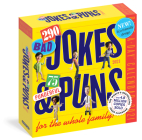 290 Bad Jokes & 75 Punderful Puns Page-A-Day Calendar 2021 Cover Image