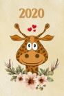 2020: girafe - Agenda - Planificateur Hebdomadaire et Mensuel - Agenda semainier 2020 - Calendrier des semaines 2020 - 20 pa Cover Image
