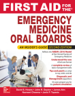 First Aid for the Emergency Medicine Oral Boards, Second Edition (Fisrt Aid) Cover Image