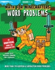Math for Minecrafters Word Problems: Grades 1-2 Cover Image