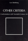 Other Criteria: Confrontations with Twentieth-Century Art Cover Image