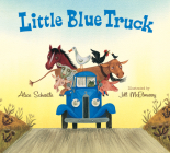 Little Blue Truck Lap Board Book Cover Image