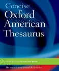 Concise Oxford American Thesaurus Cover Image