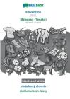 BABADADA black-and-white, slovenčina - Malagasy (Tesaka), obrázkový slovník - rakibolana an-tsary: Slovak - Malagasy (Tesaka), visual dictionary Cover Image