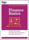 Finance Basics (HBR 20-Minute Manager Series) (20 Minute Manager) Cover Image