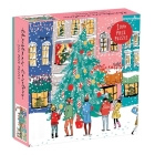 Christmas Carolers Square Boxed 1000 Piece Puzzle Cover Image