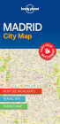 Lonely Planet Madrid City Map Cover Image