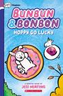 Hoppy Go Lucky: Graphix Chapters Book (Bunbun & Bonbon #2) Cover Image