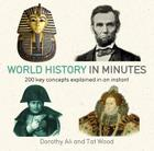 World History in Minutes Cover Image