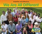 We Are All Different Cover Image