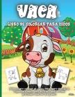 Vaca Libro de colorear para niños: Libro de colorear para niños y niñas de todas las edades Cover Image