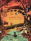 Follow Finn: A Search-And-Find Maze Book (Gecko Press Titles) Cover Image