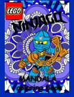 Lego Ninjago Mandala Coloring Book: 40 High Quality Illustrations for Kids and Adults Cover Image