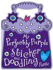 My Perfectly Purple Sticker and Doodling Purse Cover Image