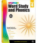 Spectrum Word Study and Phonics, Grade 4 Cover Image