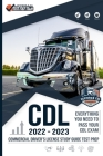 CDL - Commercial Driver's License Study Guide Test Prep: Everything You Need to Pass Your CDL Exam Cover Image