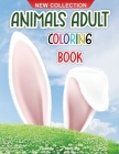 Animals adult coloring book: Amazing coloring book for adults with animals and monsters for relaxation Cover Image