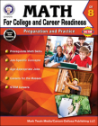 Math for College and Career Readiness, Grade 8: Preparation and Practice Cover Image