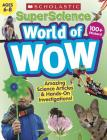 SuperScience World of WOW (Ages 6-8) Workbook Cover Image