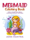 Mermaid Coloring Book: For 5 Years old Girls (Coloring Books for Kids) Cover Image
