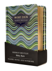Moby Dick Gift Pack - Lined Notebook & Novel Cover Image