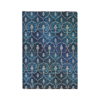 Paperblanks Blue Velvet MIDI Unlined Cover Image