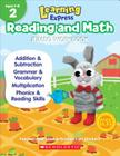 Learning Express Reading and Math Jumbo Workbook Grade 2 Cover Image