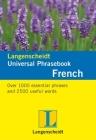 Langenscheidt Universal Phrasebook: French (Langenscheidt Universal Phrasebooks) Cover Image