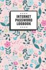 Internet Password Logbook: A Modern Password Organizer / Notebook Cover Image