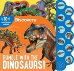 Discovery: Rumble with the Dinosaurs! (10-Button Sound Books) Cover Image