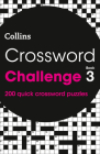 Crossword Challenge Book 3: 200 Quick Crossword Puzzles Cover Image