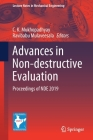Advances in Non-Destructive Evaluation: Proceedings of Nde 2019 (Lecture Notes in Mechanical Engineering) Cover Image