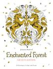 Enchanted Forest Artist's Edition: 20 Drawings to Color and Frame Cover Image