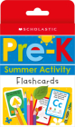 Pre-K Summer Activity Flashcards: Scholastic Early Learners (Flashcards) Cover Image