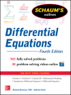 Schaum's Outline of Differential Equations (Schaum's Outlines) Cover Image