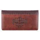 Checkbook Cover Brown Blessed Man Cover Image