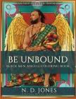 Be UnBound: Black Men Angels Coloring Book Cover Image