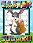 Easter Sudoku: Easter Activity Book for Kids Ages 10 -15 - Sudoku Game Book for Kids - One Puzzle Per Page - Special Edition Puzzle B Cover Image