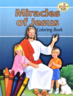 Miracles of Jesus Coloring Book Cover Image