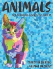 Art Coloring Books for Adults - Animals - Stress Relieving Animal Designs Cover Image