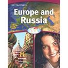 World Geography: Student Edition Europe and Russia 2012 Cover Image