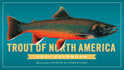 Trout of North America Wall Calendar 2021 Cover Image
