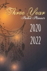 2020-2022 Three Year Pocket Planner: Dreamcatcher Cover, 3 Year Calendar, 36-Month Pocket Monthly Agenda Planner with Holiday Cover Image