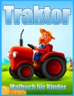 Traktor Malbuch Für Kinder: Einfache Malbilder für Kleinkinder (Malbuch für Jungen und Mädchen) Cover Image