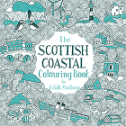 The Scottish Coastal Colouring Book Cover Image