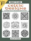 Ready-To-Use Celtic Designs: 96 Different Royalty-Free Designs Printed One Side Cover Image