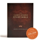 CSB Tony Evans Study Bible, Hardcover Cover Image