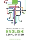 Introduction to the English Legal System 2018-19 Cover Image