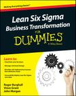 Lean Six Sigma Business Transformation for Dummies Cover Image