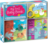 My First Baby Books: Three Adorable Books in One Box: Bath Book, Cloth Book, Buggy Book Cover Image